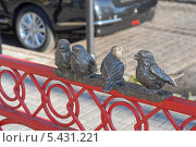 Купить «Городская скульптура», эксклюзивное фото № 5431221, снято 10 ноября 2013 г. (c) Svet / Фотобанк Лори
