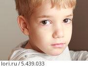 Портрет мальчика. Стоковое фото, фотограф Svitlana Aryeva / Фотобанк Лори