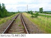 Две дороги в Осташков, Тверская область (2013 год). Стоковое фото, фотограф Елена Коромыслова / Фотобанк Лори