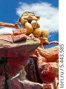 Купить «Скульптура в парке развлечений на горе Мтацминда. Тбилиси. Грузия», фото № 5443585, снято 3 июля 2013 г. (c) Евгений Ткачёв / Фотобанк Лори