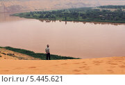 Желтая река на северо-западе Китая (2011 год). Стоковое фото, фотограф Kate Chizhikova / Фотобанк Лори