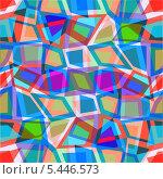 Купить «Абстрактный геометрический фон», иллюстрация № 5446573 (c) Катыкин Сергей / Фотобанк Лори
