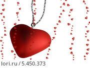 Купить «Валентинка», иллюстрация № 5450373 (c) Irina Opachevsky / Фотобанк Лори