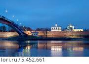 Великий Новгород. Кремль. Ночной вид (2014 год). Стоковое фото, фотограф Румянцева Наталия / Фотобанк Лори