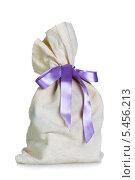 Купить «Полный мешок с лентой», фото № 5456213, снято 12 декабря 2013 г. (c) Сергей Лаврентьев / Фотобанк Лори