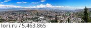Купить «Панорама Тбилиси. Грузия», фото № 5463865, снято 24 мая 2019 г. (c) Евгений Ткачёв / Фотобанк Лори
