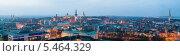 Купить «Панорамный вид на Старый город в Таллине, Эстония», эксклюзивное фото № 5464329, снято 5 января 2014 г. (c) Литвяк Игорь / Фотобанк Лори