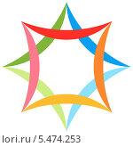 Герб города Ашхабада. Туркменистан. Стоковая иллюстрация, иллюстратор Владимир Макеев / Фотобанк Лори