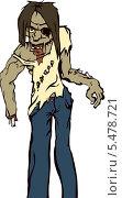 Зомби. Стоковая иллюстрация, иллюстратор Константин Костенко / Фотобанк Лори