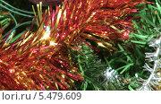 Купить «Наряженная новогодняя елка крупным планом», видеоролик № 5479609, снято 13 января 2014 г. (c) Андрей Некрасов / Фотобанк Лори