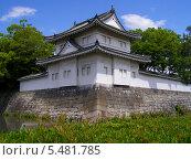Купить «Юго-восточная башня Суми Ягура замка Нидзё, Киото, Япония. Статус - Важная культурная собственность», фото № 5481785, снято 31 мая 2007 г. (c) Иван Марчук / Фотобанк Лори