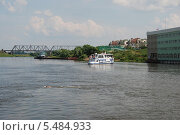 Купить «Москва-река в Коломне Московской области», эксклюзивное фото № 5484933, снято 3 июля 2011 г. (c) lana1501 / Фотобанк Лори