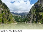 Горный Каньон и плотины (Альпы, Швейцария) Стоковое фото, фотограф Юрий Брыкайло / Фотобанк Лори