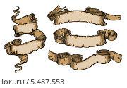 Геральдические ленты. Баннеры. Стоковая иллюстрация, иллюстратор Александр Павлов / Фотобанк Лори