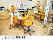 Детское кресло в стоматологическом кабинете (2014 год). Редакционное фото, фотограф Володина Ольга / Фотобанк Лори