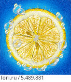 Лимон. Стоковая иллюстрация, иллюстратор Марк Назаров / Фотобанк Лори