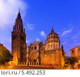 Купить «Собор Святой Марии в Толедо, Испания», фото № 5492253, снято 22 августа 2013 г. (c) Яков Филимонов / Фотобанк Лори