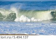 Купить «Гребень океанской волны», фото № 5494137, снято 29 декабря 2013 г. (c) Татьяна Кахилл / Фотобанк Лори