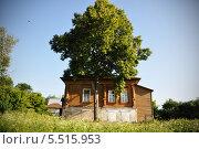 Деревенский дом, дерево. Стоковое фото, фотограф Светлана Хромова / Фотобанк Лори