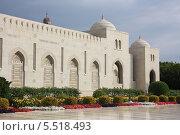 Купить «Большая мечеть в Маскате. Оман», фото № 5518493, снято 8 января 2014 г. (c) Людмила Травина / Фотобанк Лори