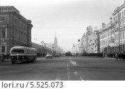 Улицы Санкт-Петербурга, 60-е годы. Стоковое фото, фотограф Максим Гулячик / Фотобанк Лори