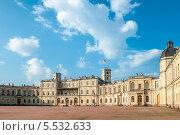 Купить «Гатчинский дворец», фото № 5532633, снято 22 января 2019 г. (c) Алексей Щукин / Фотобанк Лори
