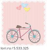 Велосипед. Стоковая иллюстрация, иллюстратор Oxana  Ponomarenko / Фотобанк Лори