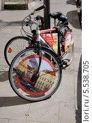 Городской велосипед. Мюнхен, Германия (2013 год). Редакционное фото, фотограф Илюхина Наталья / Фотобанк Лори