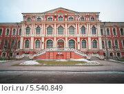 Митавский (Елгавский) дворец. Латвия (2013 год). Стоковое фото, фотограф Борис Сунцов / Фотобанк Лори