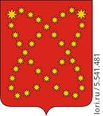 Купить «Герб Билибинского района», иллюстрация № 5541481 (c) VectorImages / Фотобанк Лори