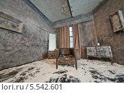 Купить «Заброшенная комната со старой мебелью, засыпанная снегом», фото № 5542601, снято 26 ноября 2012 г. (c) Losevsky Pavel / Фотобанк Лори