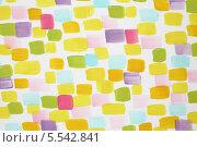 Купить «Белая стена, покрытая мазками разноцветной краски», фото № 5542841, снято 1 августа 2012 г. (c) Losevsky Pavel / Фотобанк Лори