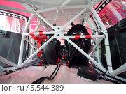 Купить «Усиленный каркас автомобиля, Rally Masters Show, Москва», фото № 5544389, снято 21 апреля 2012 г. (c) Losevsky Pavel / Фотобанк Лори