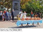 Купить «Праздник 200-летия победы России в войне 1812 года и день Преображения Господня», фото № 5544981, снято 19 августа 2012 г. (c) Losevsky Pavel / Фотобанк Лори