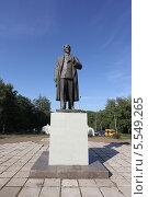 Купить «Памятник М. И. Калинину в Уфе», фото № 5549265, снято 29 июня 2012 г. (c) Роман Иванов / Фотобанк Лори