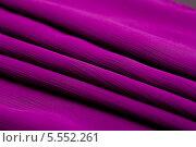Купить «Складки фиолетовой ткани», фото № 5552261, снято 18 декабря 2013 г. (c) Morgenstjerne / Фотобанк Лори