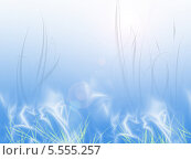 Туманное утро. Стоковая иллюстрация, иллюстратор Константин Токарев / Фотобанк Лори