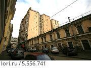 Купить «Москва. Большой Гнездниковский переулок, дом 10», фото № 5556741, снято 25 октября 2008 г. (c) Александр С. Курбатов / Фотобанк Лори