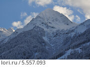 Зима в горах. Стоковое фото, фотограф Александр Белошниченко / Фотобанк Лори