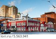 Купить «Театр на Таганке, улица Земляной Вал. Москва», фото № 5563941, снято 26 января 2014 г. (c) Екатерина Овсянникова / Фотобанк Лори