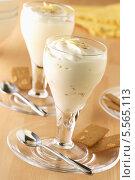 Купить «молочный коктейль с лимоном и имбирем», фото № 5565113, снято 21 августа 2018 г. (c) Food And Drink Photos / Фотобанк Лори
