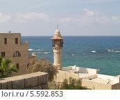 Купить «Израиль. Мечеть Джама эль-Бахар (аль-Бахр, Морская мечеть) в Яффо», фото № 5592853, снято 4 октября 2012 г. (c) Ирина Борсученко / Фотобанк Лори