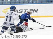 Балашиха, хоккей, атака (2014 год). Редакционное фото, фотограф Дмитрий Неумоин / Фотобанк Лори