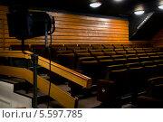 Купить «Кресла в партере зрительного зала Театра на Таганке города Москвы», фото № 5597785, снято 14 февраля 2014 г. (c) Николай Винокуров / Фотобанк Лори