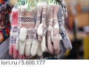Шерстяные перчатки. Стоковое фото, фотограф Insomnia / Фотобанк Лори