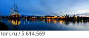 Купить «Вид на Новгородский кремль ночью», фото № 5614569, снято 18 июня 2019 г. (c) Зезелина Марина / Фотобанк Лори