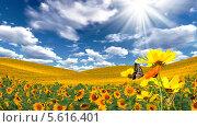 Купить «Красивый летний пейзаж», иллюстрация № 5616401 (c) Наталья Спиридонова / Фотобанк Лори