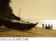 Купить «Вьетнам, Муйне, Рыбацкая деревня», фото № 5642149, снято 15 января 2014 г. (c) макаров виктор / Фотобанк Лори