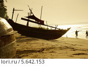Купить «Вьетнам, Муйне, Рыбацкая деревня», фото № 5642153, снято 15 января 2014 г. (c) макаров виктор / Фотобанк Лори