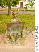 Купить «Великий Новгород, скульптура», фото № 5642425, снято 18 июля 2013 г. (c) ИВА Афонская / Фотобанк Лори